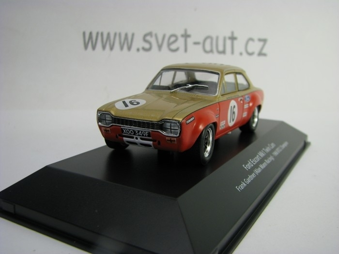 Ford Escort Mk1 Twin Cam No.16 Frank Gardner 1968 BTCC Champion 1:43 Atlas