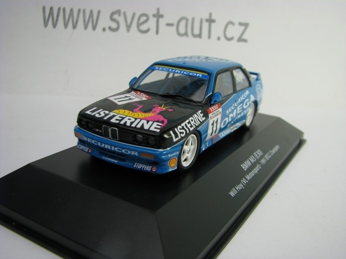 BMW M3 E30 No.11 Will Hoy 1991 BTCC Champion 1:43 Atlas