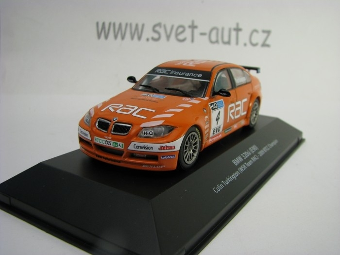 BMW 320si E90 No.4 Turkington 2009 BTCC Champion 1:43 Atlas