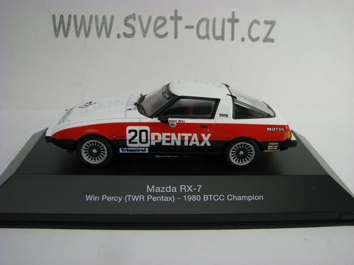 Mazda RX-7 No.20 Percy 1980 BTCC Champion 1:43 Atlas