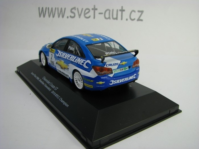 Chevrolet Cruze LT No.25 Plato 2010 BTCC Champion 1:43 Atlas