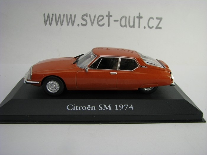 Citroen SM 1974 Brown 1:43 Atlas Edition