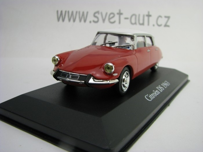 Citroen DS 1963 Red 1:43 Atlas Edition