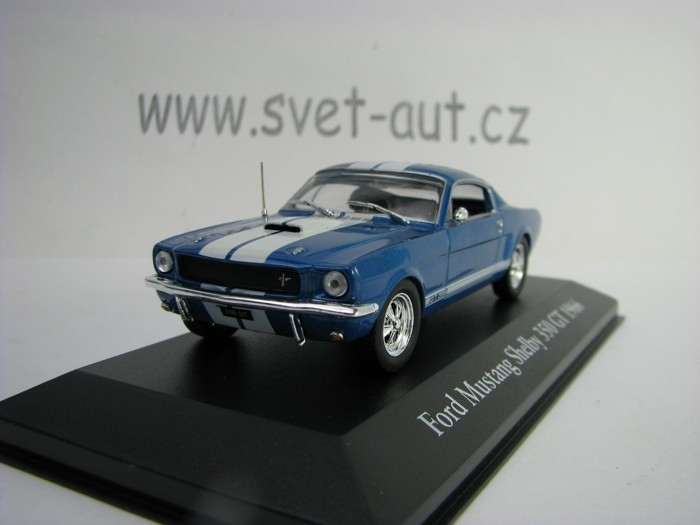Ford Mustang Shelby 350 GT 1966 Blue 1:43 Atlas Edition