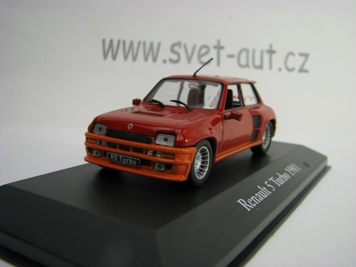 Renault 5 Turbo 1981 1:43 Atlas Edition