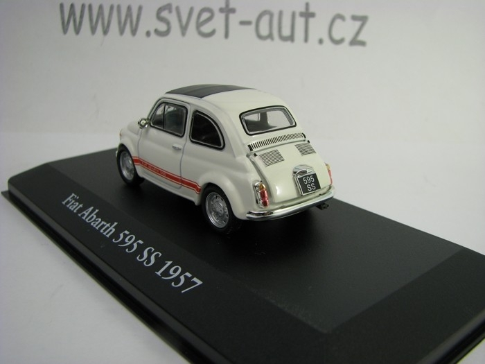 Fiat Abarth 595 SS 1957 1:43 Atlas Edition