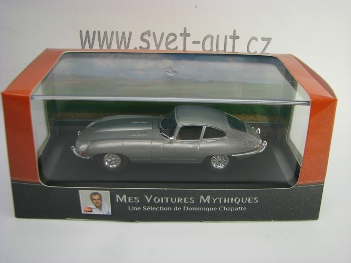 Jaguar E-Type 1961 Grey 1:43 Atlas Edition