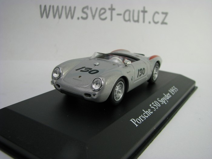Porsche 550 Spyder 1955 No.130 1:43 Atlas Edition