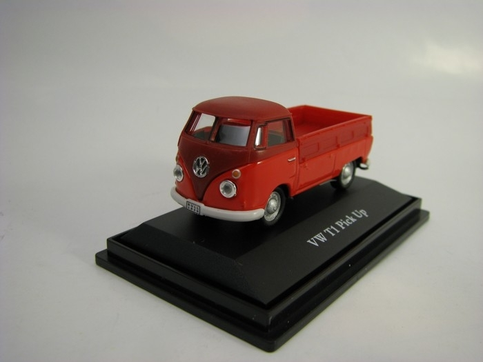 Vokswagen T1 Pic up Red 1:72 Cararama