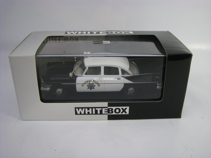Plymouth Savoy 1959 California Highway Patrol 1:43 White Box