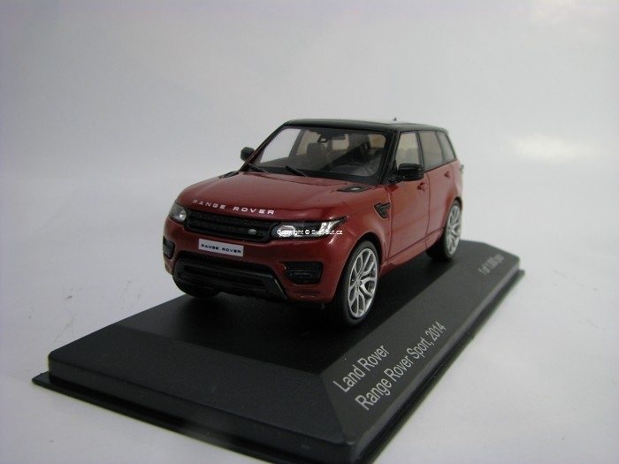 Land Rover Range Rover Sport 2014 Metallic Red 1:43 White Box