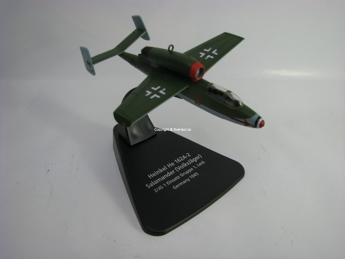 Heinkel He 162 Germany 1945 1:72 Oxford