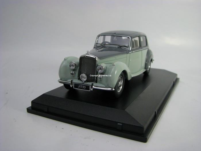 Bentley Mk VI Two Tone Grey 1:43 Oxford