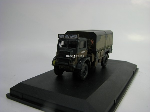 Bedford QLD Army Fire Service 1:76 Oxford