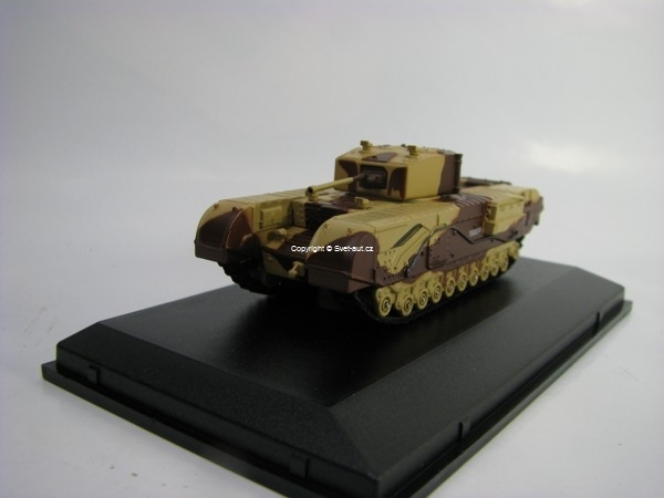 Tank Churchill MkIII Kingforce - Major King 1:76 Oxford