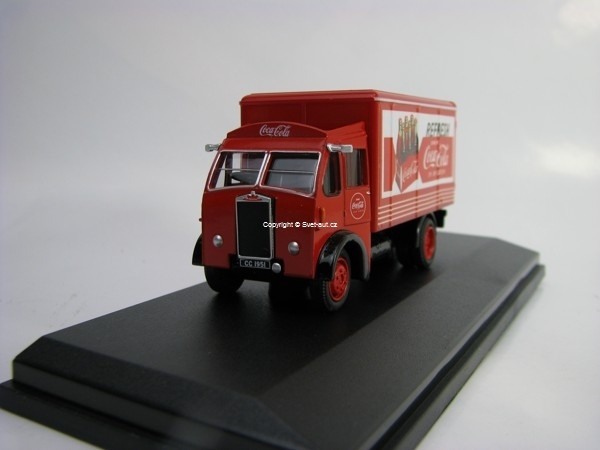 Albion Victor Box Van Coca-Cola 1:76 Oxford