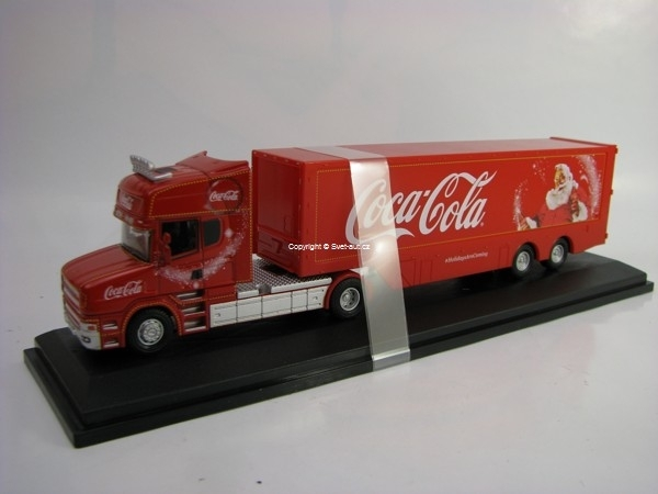 Scania T Cab Coca-Cola Christmas Truck 1:76 Oxford