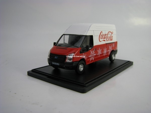 Ford Transit LWB High Roof Coca-Cola 1:76 Oxford