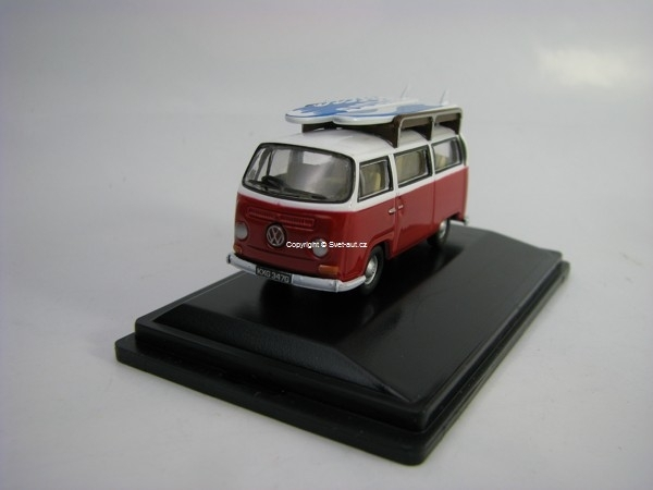 Volkswagen T1 BAY Window Bus Surfboards Montana 1:76 Oxford