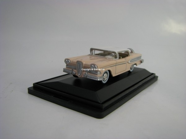 Edsel Citation 1958 Ice Chalk Pink 1:87 Oxford