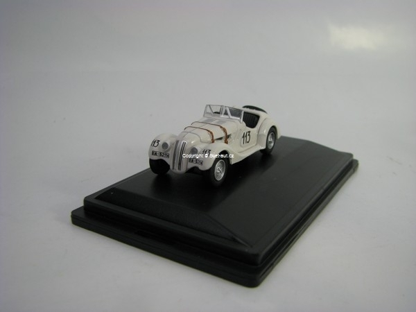 BMW 328 Mille Miglia 1938 No.113 Fane/James 1:76 Oxford