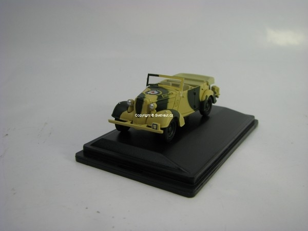 Humber Snipe Tourer Old Faithful General Montgomery Italy 1942 1:76 Oxford
