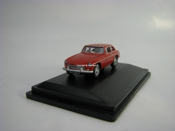 MGB GT Tartan Red 1:76 Oxford