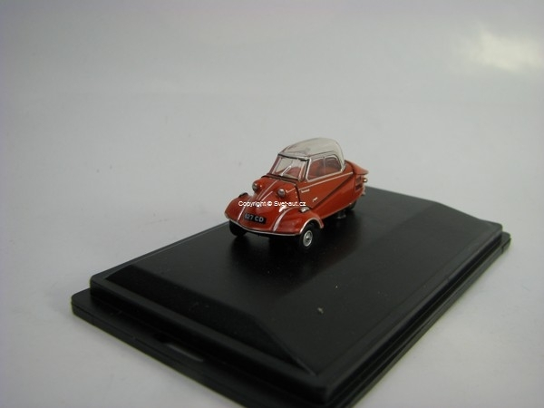 Messerschmitt KR200 Buble Car Rouge Sarde 1:76 Oxford