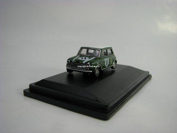 Mini Cooper S MKII John Rodes No.11 1968 Brands Hatch 1:76 Oxford