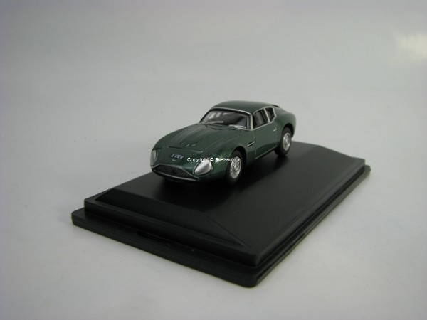 Aston Martin DB4GT Zagato VEV 2 Jim Clark Goodwood 1962 1:76 Oxford