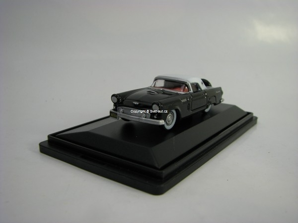 Ford Thunderbird Raven Black/White 1:87 Oxford