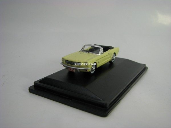 Ford Mustang Convetible 1965 Springtime Yellow 1:87 Oxford