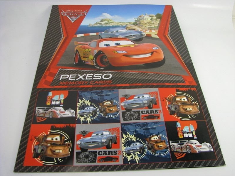 Pexeso Cars Memory Cards