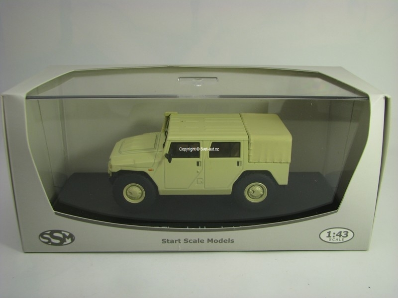 Gaz Tiger double cab Pick Up Beige 1:43 Start Scale Models