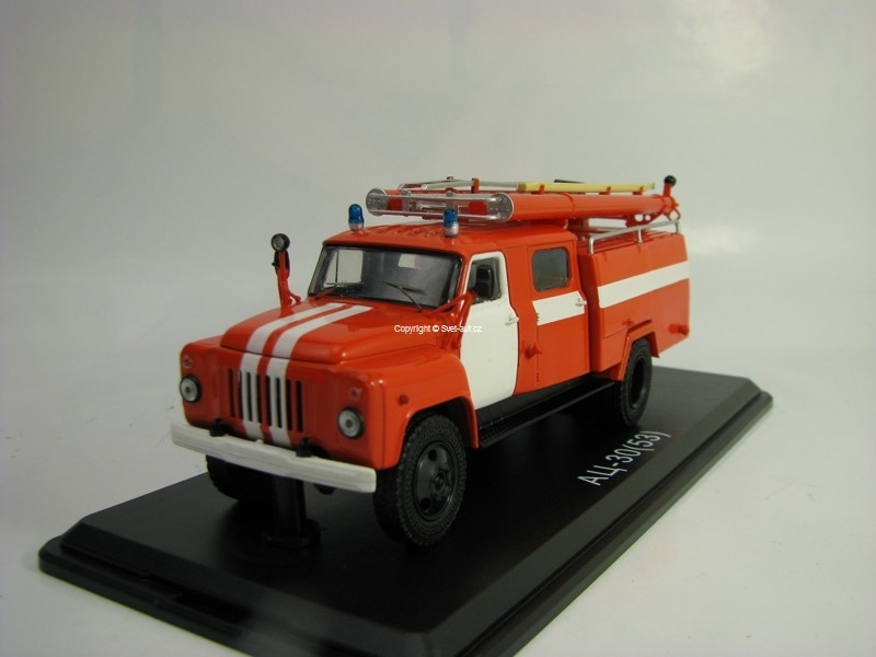 Gaz AC-30 53-12 106B Hasiči 1:43 Start Scale Models