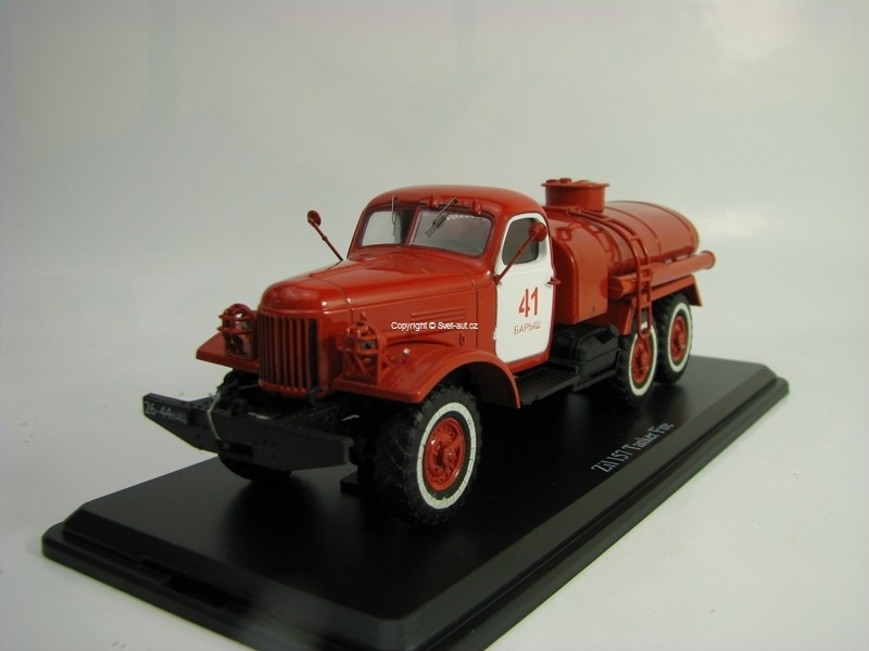 Zil 157 Tanker Fire 1:43 Start Scale Models