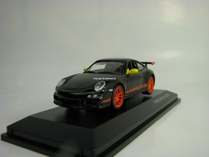 Porsche 997 GT3 RS 2007 Black 1:43 Lucky Die Cast