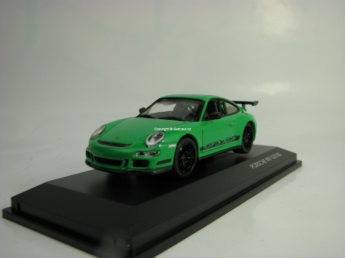 Porsche 997 GT3 RS 2007 Green 1:43 Lucky Die Cast