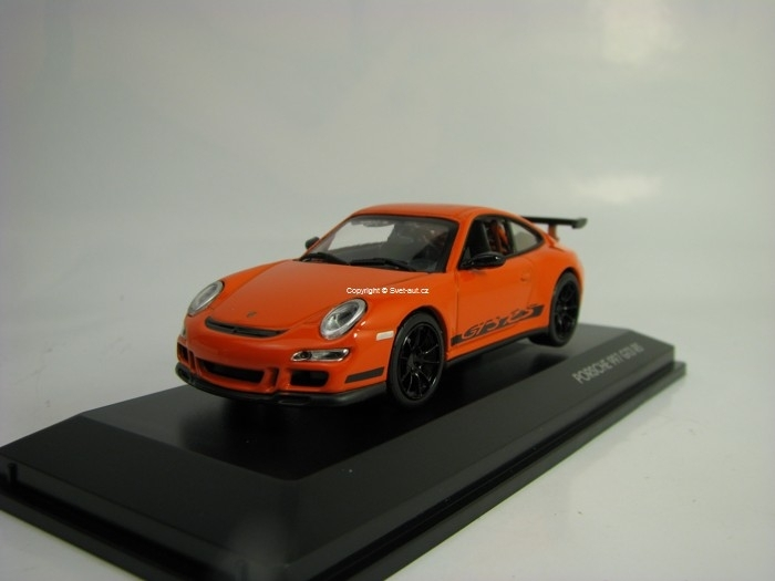 Porsche 997 GT3 RS 2007 Orange 1:43 Lucky Die Cast