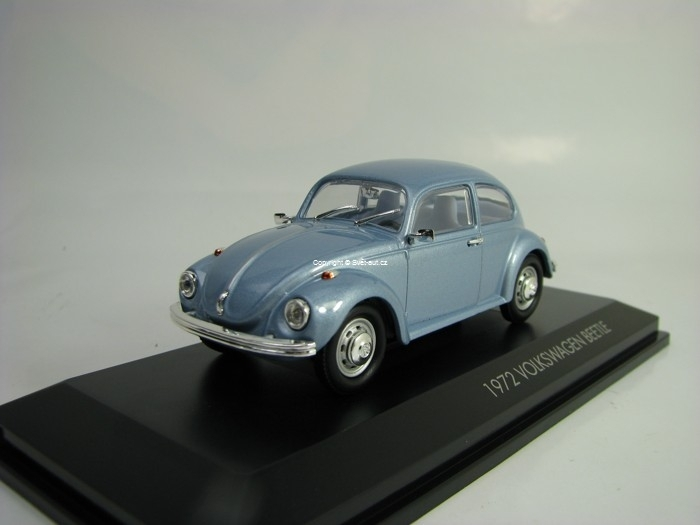 Volkswagen Beetle 1972 Blue Metallic 1:43 Lucky Die Cast