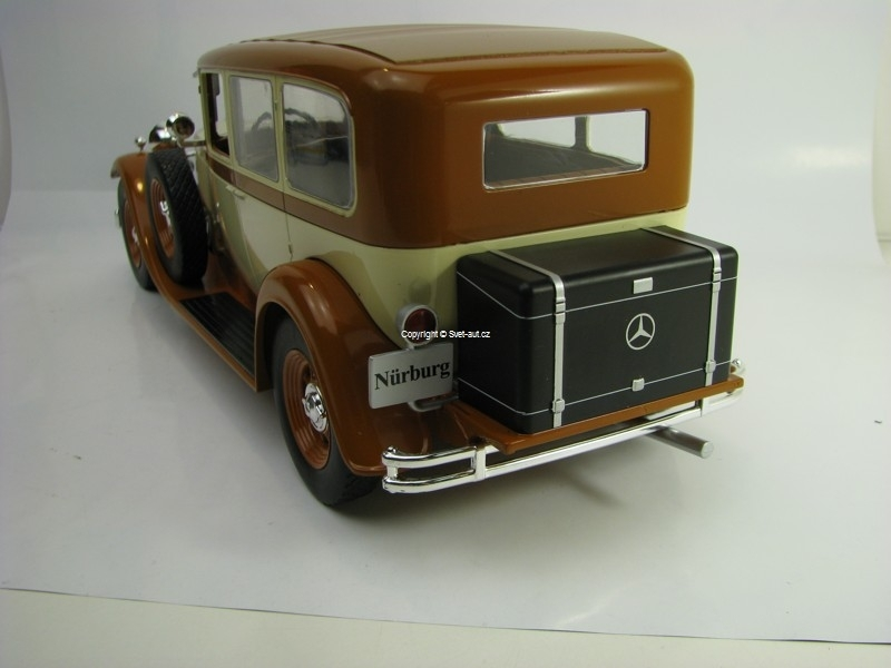 Mercedes-Benz Typ Nurburg 460K W08 1928 1:18 MCG Modelcar Group