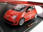Fiat 500 Abarth Red 1:18 Moor Max