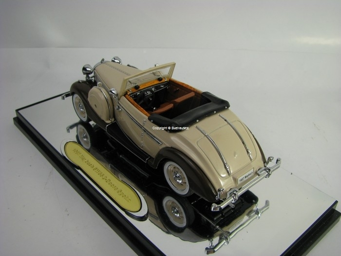 Maybach SW38 2 Doors spohn 1937 Beige 1:43 Signature Models