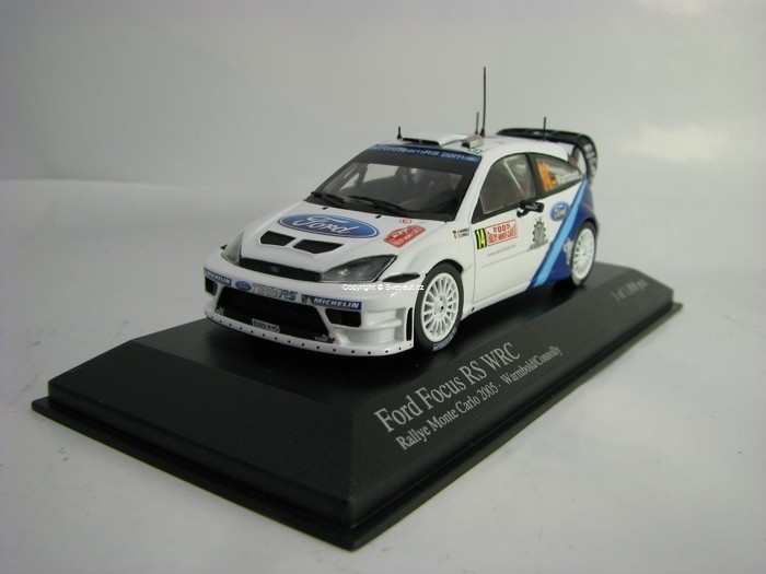 Ford Focus RS WRC Rally MC 2005 No.14 Warbold 1:143 Minichamps