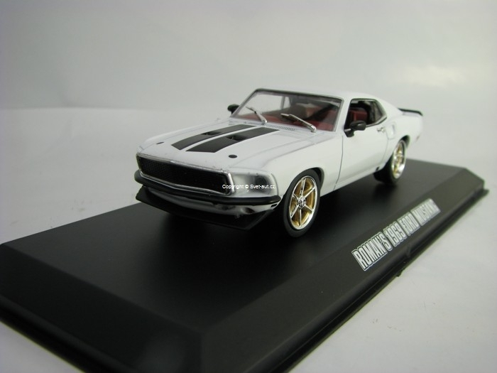 Roman's 1969 Ford Mustang Fast & Furious 1:43 Greenlight