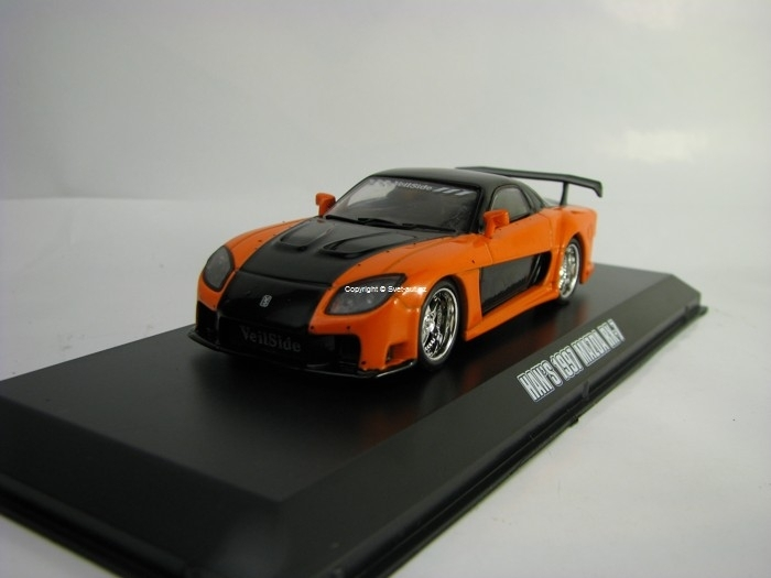 Han's 1997 Mazda RX-7 Fast & Furious 1:43 Greenlight