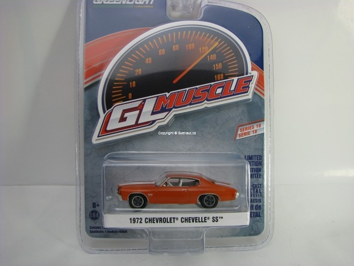 Chevrolet Chevelle SS 1972 Red 1:64 Greenlight GL Muscle Serie 18