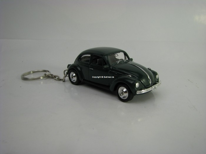 Přívěsek Volkswagen Beetle Green 1:60 Welly