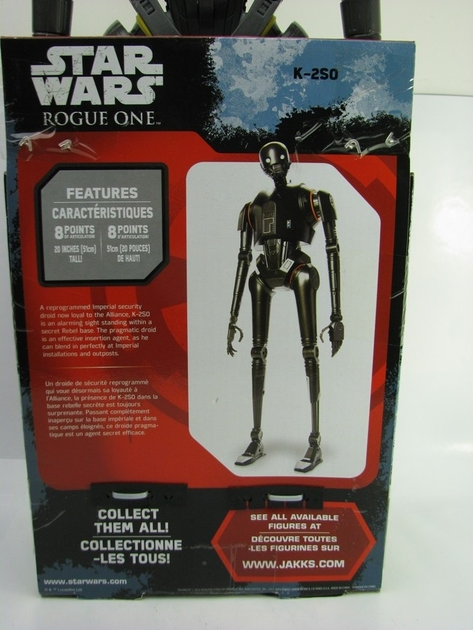 Star Wars Big-Figs Seal Droid K-2SO Figurka 51 cm Disney Jakks