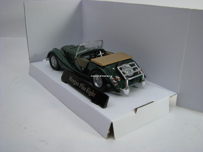 Morgan Plus Eight Cabriolet Green 1:43 Cararama